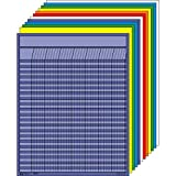 "Shapes Etc. SE-365 Vertical Incentive Chart Set, Large, 22"" W x 28"" H, Assorted Color (Pack of 12)"