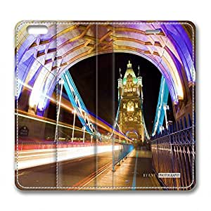 Fantasy Personalized Design Leather Case for Iphone 6 Beautiful Viaduct