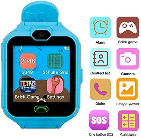 Hangang Teléfono Inteligente Niña Smartwatch Cámara Juegos ...