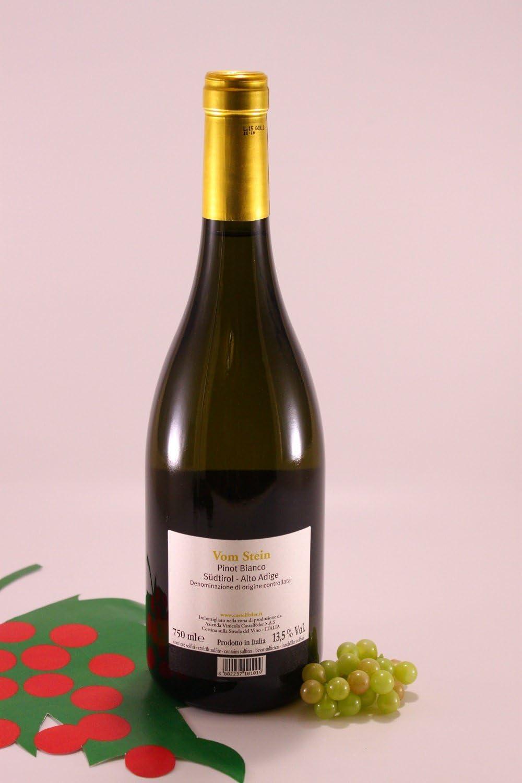 Pinot Blanc Vom Stein - 2018 - Castelfeder Canyina: Amazon.es: Alimentación y bebidas
