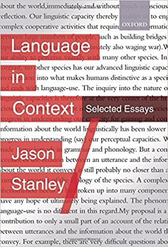 com language in context selected essays  language in context selected essays 1st edition