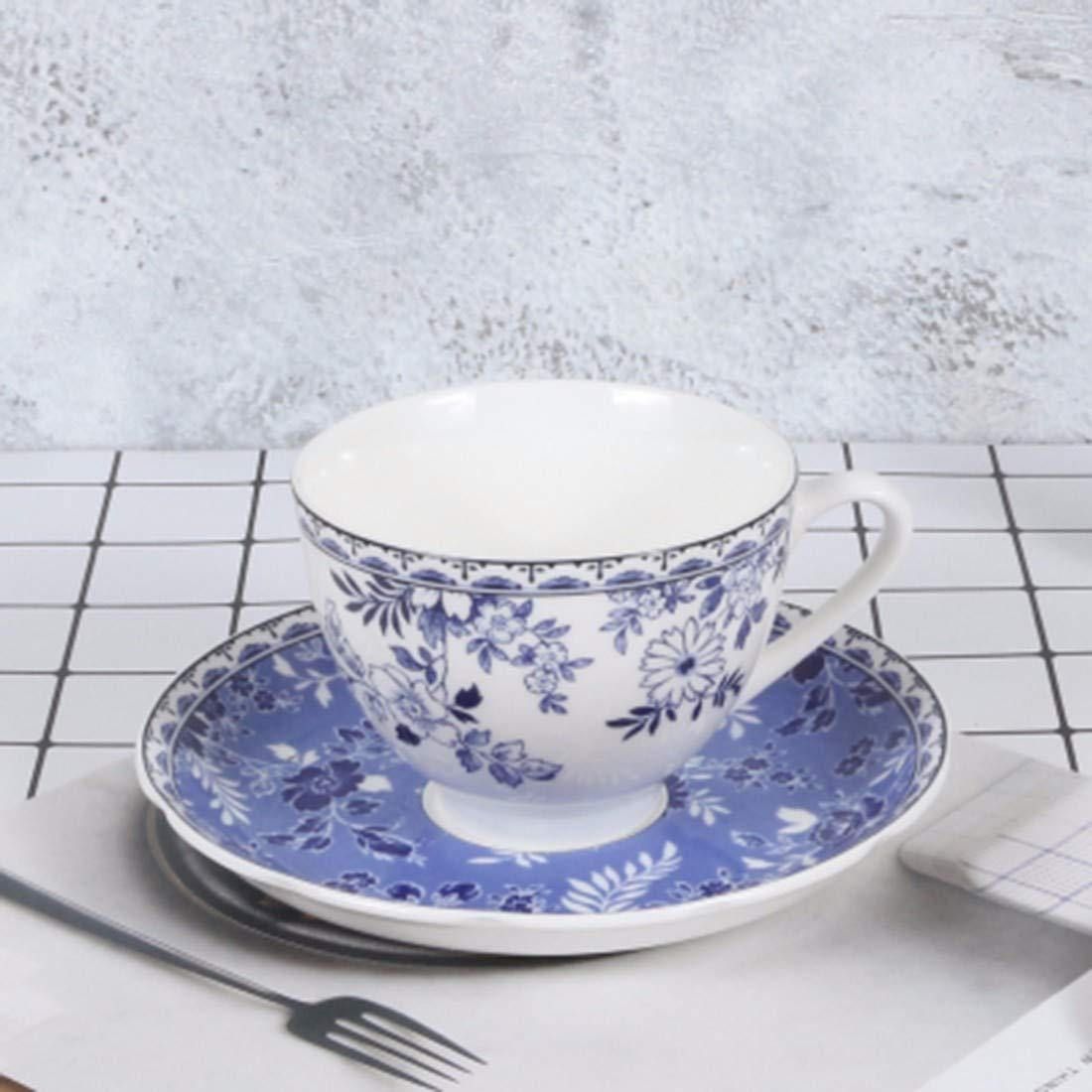 QPGGP-Teller British Household Platten, blau - weißem Porzellan, westliche Gerichte der europäischen küche,l