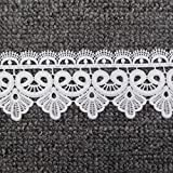 Trimscraft Rayon Lace Trim Thick Lace 2 Inches Wide Pack of 6 Yards