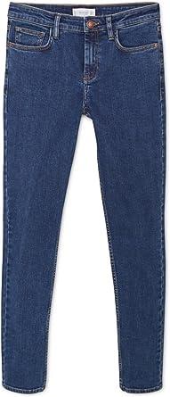 Mango Pantalones Vaqueros Finos Olivia Mujer Azul Azul Oscuro 34 Amazon Es Ropa Y Accesorios