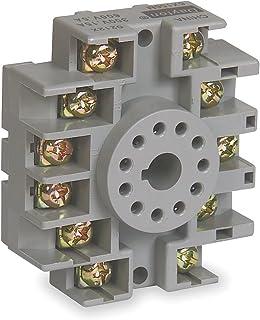 dayton 5x852 socket relay 8 pins electronic sockets amazon com rh amazon com