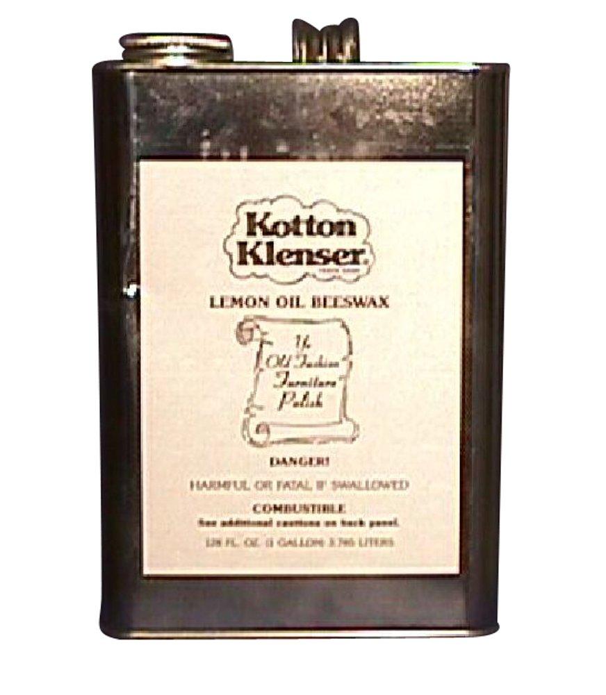 Kotton Klenser Lemon OIL Beeswax Polish 1 Gallon