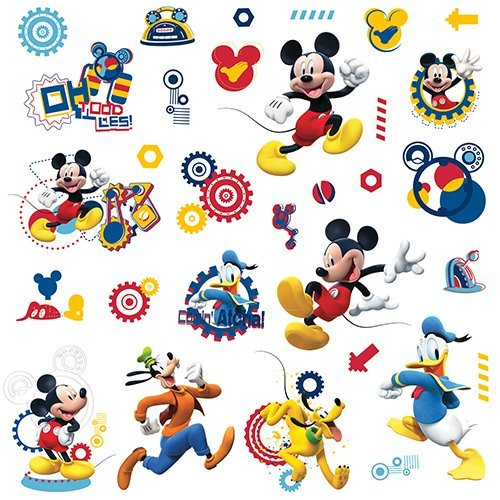 RoomMates RMK2555SCS Wall Decal, Multi