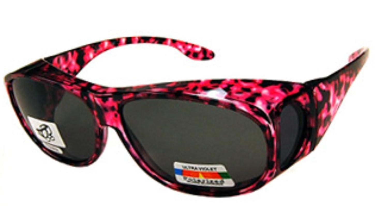47ef38b1a8 Amazon.com  Unisex Camouflage Sun Shield Fit Over Sunglasses Polarized - Wear  Over Prescription Glasses - Cover Over Glasses - Size Medium in Light Green  ...