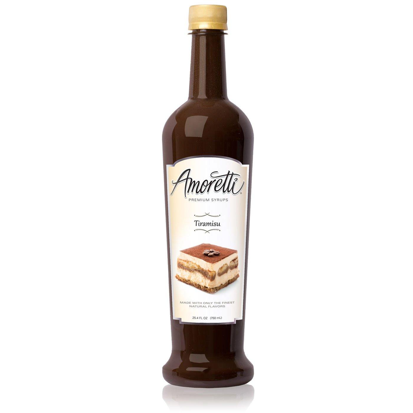 Amoretti Premium Syrup, Tiramisu, 25.4 Ounce