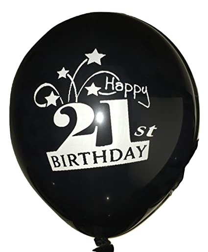 Image Unavailable Not Available For Color 21st BIRTHDAY BALLOONS