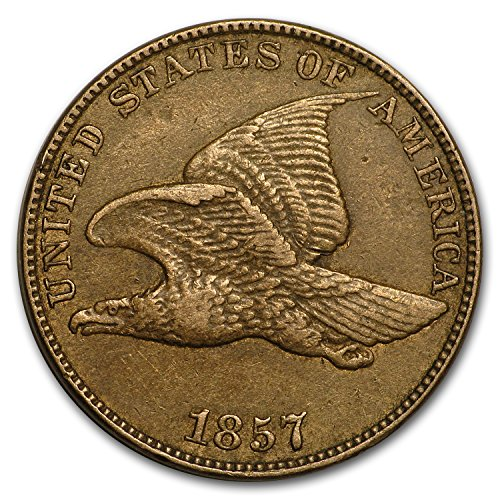 - 1857 Flying Eagle Cent XF Cent Extremely Fine
