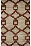 Sawyer Area Rug, 8'x11′, BEIGE RED Review