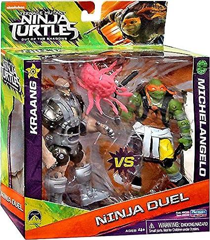 Teenage Mutant Ninja Turtles Out of the Shadows Ninja Duel Kraang vs Michelangelo 5
