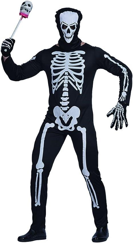 EraSpooky Esqueleto Hombre Comedia Novedad Disfraz Halloween ...