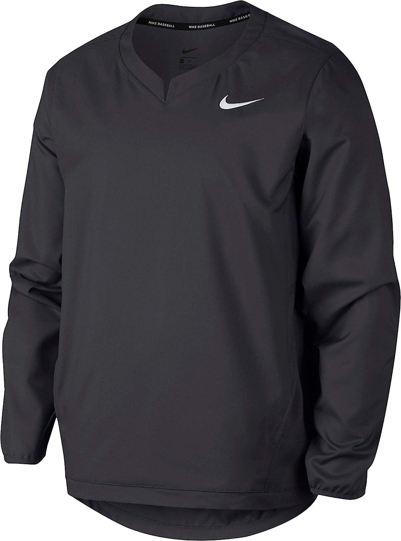 ff7a6a45 Nike Men's Long Sleeve Baseball Jacket at Amazon Men's Clothing store:
