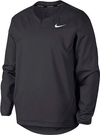 fb21522b549 NIKE Men s Long-Sleeve Baseball Pullover Jacket at Amazon Men s ...