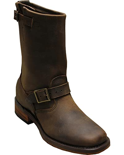 "Men's Sage by 11"" Engineer Boot Square Toe - 4748"