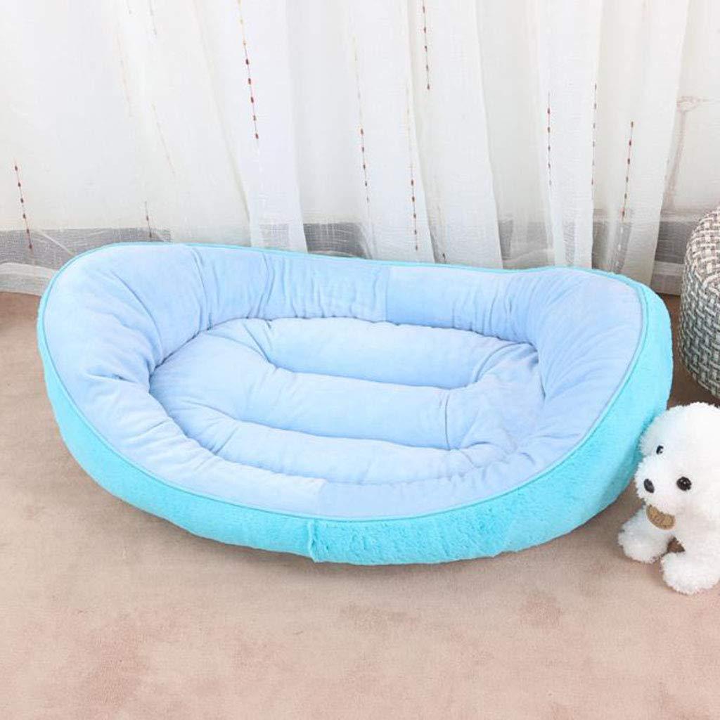 2 Xiaodu Pet Kennel Cat Litter Boat Nest Style Autumn And Winter Warm Pet Supplies 75  55  23, 2