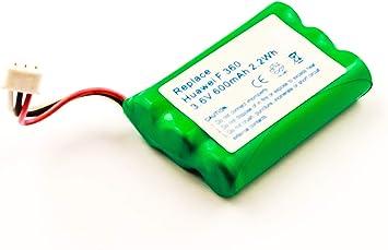 Akkuversum batería de Repuesto Compatible con Huawei f316 batería de Repuesto Teléfono inalámbrico: Amazon.es: Electrónica