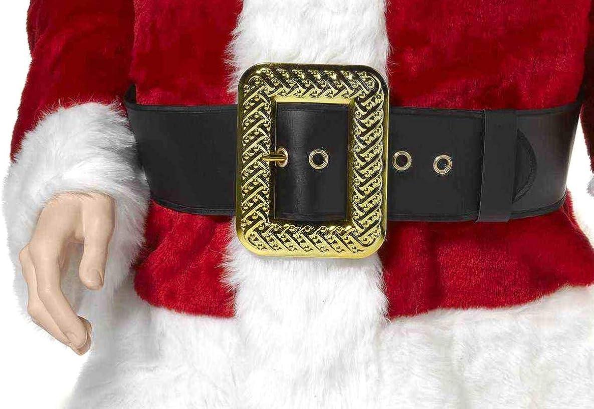 Forum Novelties Men's Deluxe Adult Santa Belt Costume Accessory