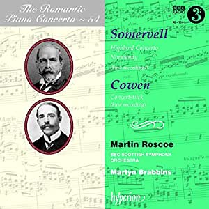 Romantic Piano Concerto, Vol. 54: Somervell: Piano Concerto; Cowen: Concertstuck