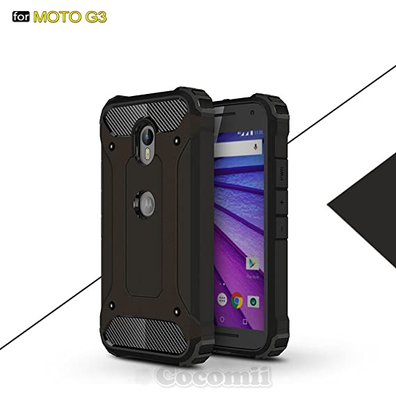 info for a8e96 e286c Motorola Moto G3 Case, Cocomii Commando Armor NEW [Heavy Duty] Premium  Tactical Grip Dustproof Shockproof Hard Bumper Shell [Military Defender]  Full ...