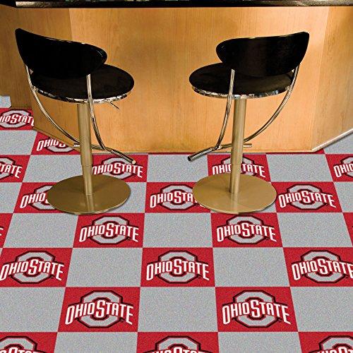 Wholesale Team Carpet Tiles Ohio State University 18