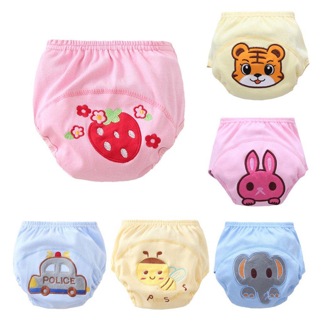 Skhls New Anti Leakage Training Pants Baby Cute Potty Training Pants Set of 6 Pieces