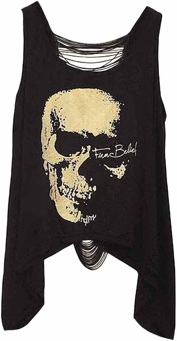 Camiseta Punk Rock Calavera