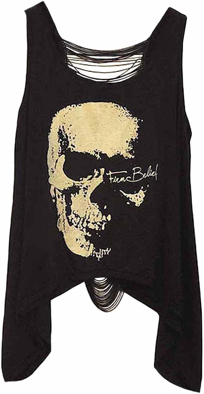 Acheter t-shirt femme tete de mort online 8