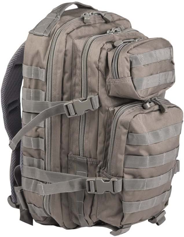 Mil-Tec Military Army Patrol Molle Assault Pack Tactical Combat Rucksack Backpack Bag 20L Foliage Green