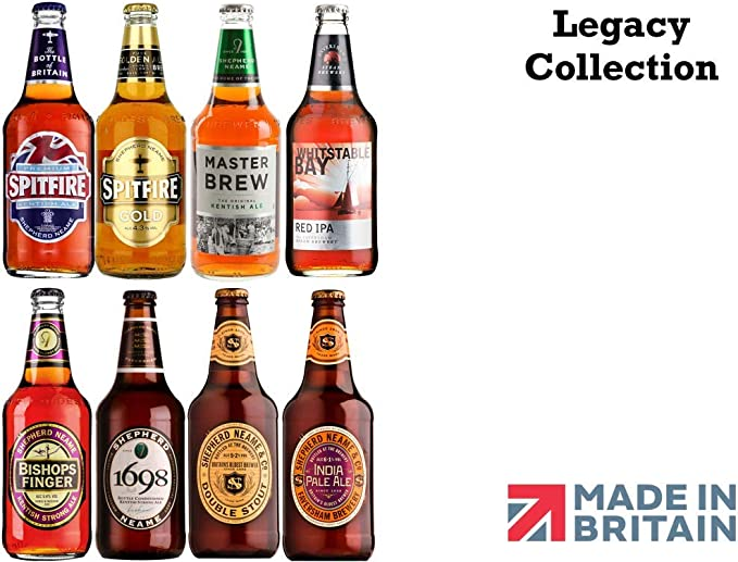 Shepherd Neame Legacy Collection 8 Cervezas