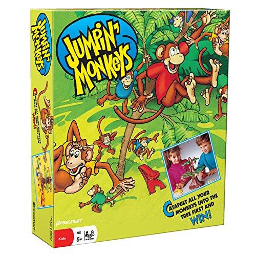 Pressman Jumpin Monkeys Game