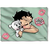 Betty Boop 1930's Animated Character Icon Goodnight Kiss Pillow Case
