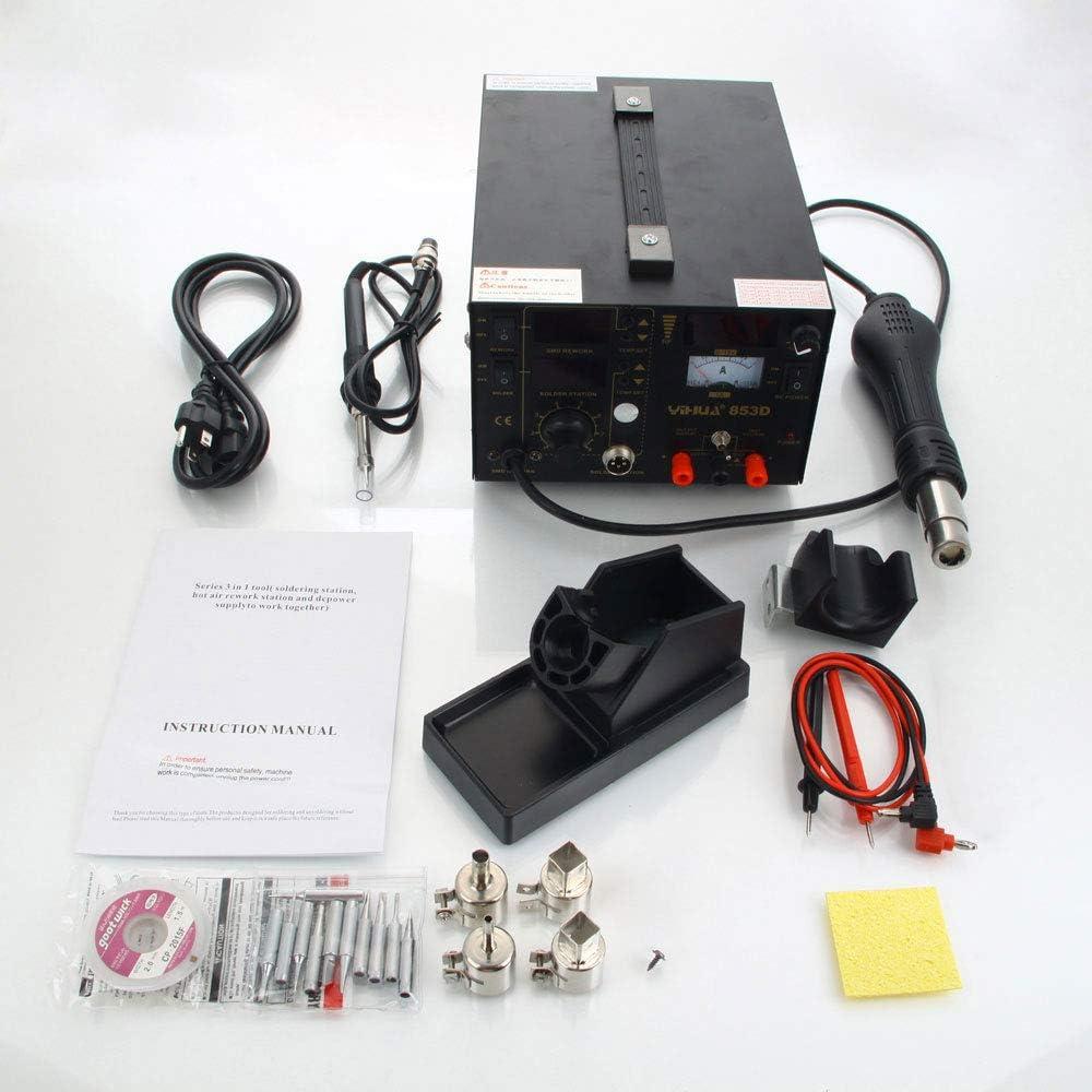 Kit de fer /à souder pour pistolet /à air chaud avec 11 pi/èces de fer /à souder Hea