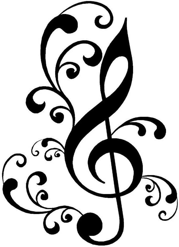MUSIC NOTE Treble Clef Wax Seal Stamp  Wedding Invitation  Birthday Party  Envelope Letter Stamp  Gift Box Set ref : L