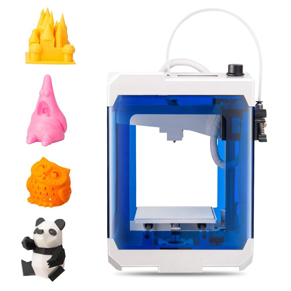 HopeWant Desktop 3D Printer Steam for Design Mini 3D Printer Kit with 250g  PLA Filament TF Card High Accuracy 3D Print Education Windows/MAC/Linux