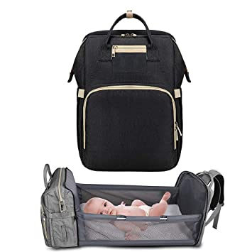 3 in 1 Portable Foldable Baby Bed,Baby Travel Sleeping Bag,Bassinet Traveling for Baby,Diaper Bag Portable Changing Station (for 0-1 Year Olds)