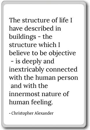 Amazoncom The Structure Of Life I Have Describe Christopher