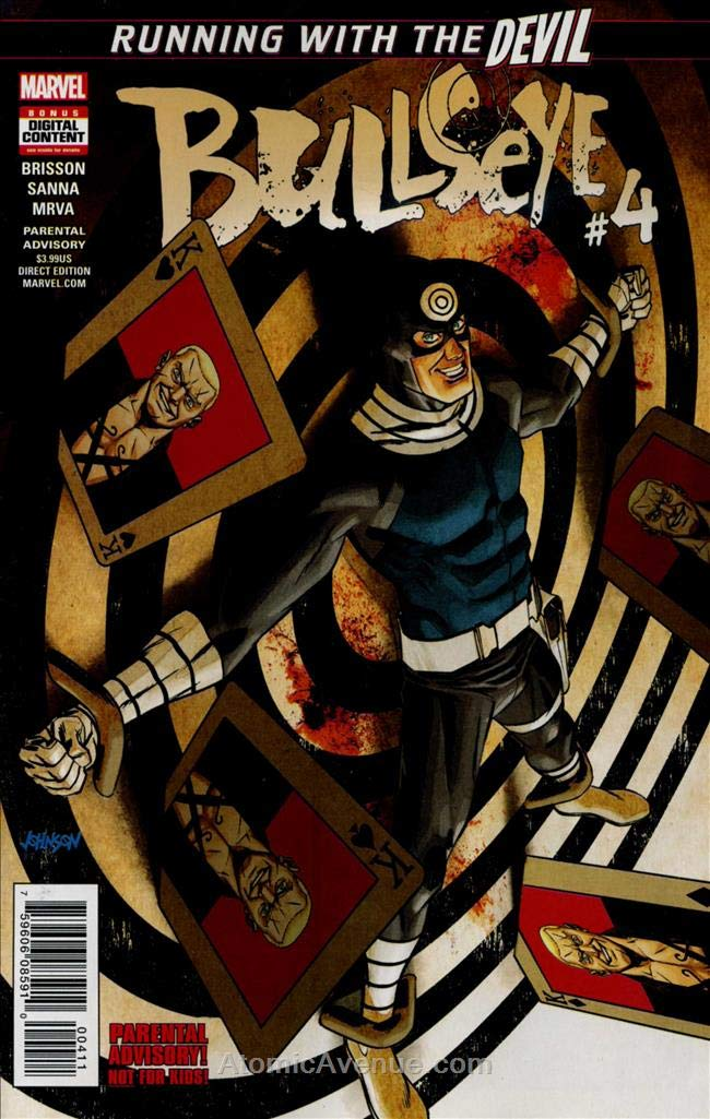Amazon.com: Bullseye (Marvel) #4 VF/NM ; Marvel comic book ...