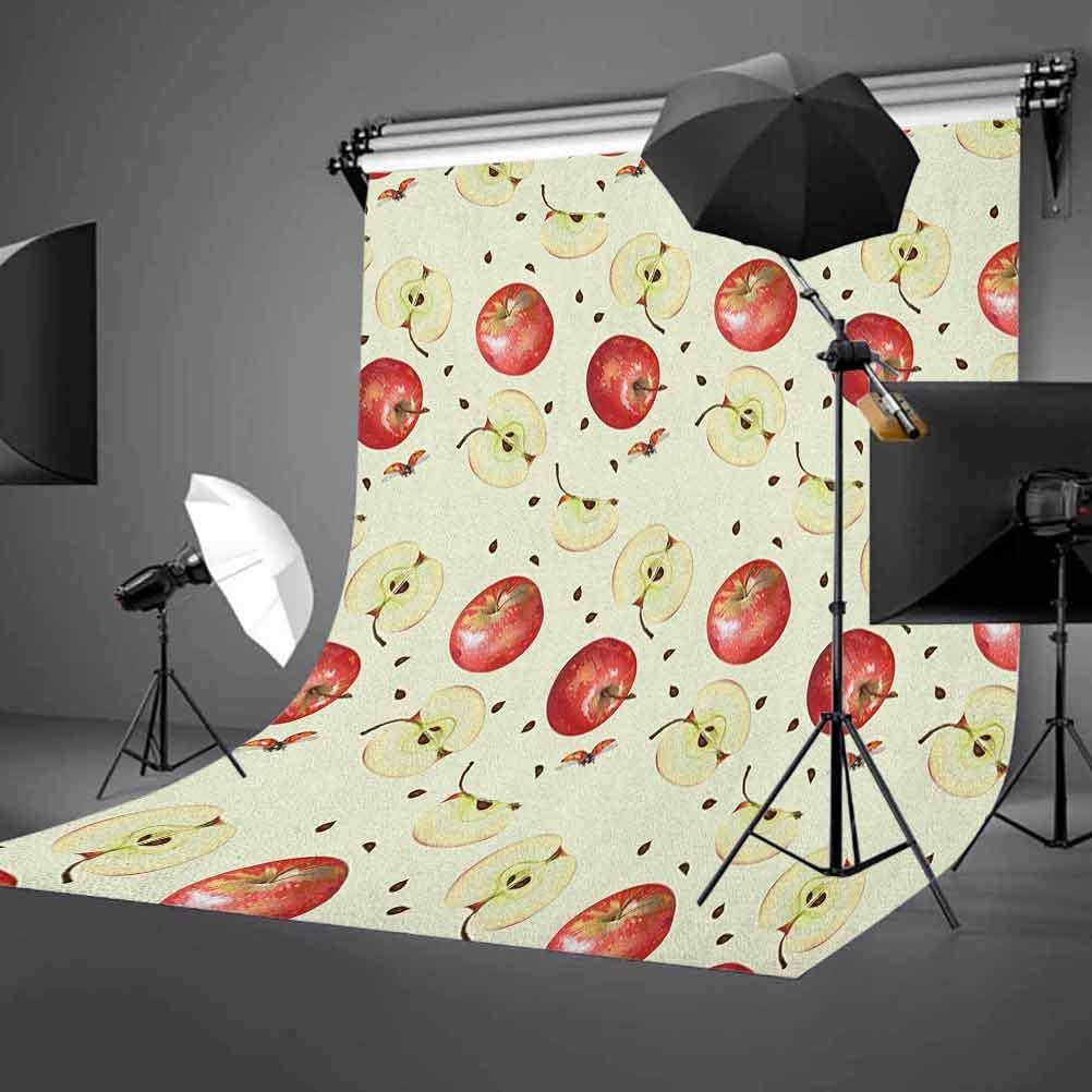 7x10 FT Coral Vinyl Photography Background Backdrops,Peonies English Roses Victorian Bouquet Corsage Blossoms Flourish Background for Selfie Birthday Party Pictures Photo Booth Shoot