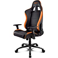 Drift DR200 - DR200BO - Silla Gaming, Color Negro/Naranja
