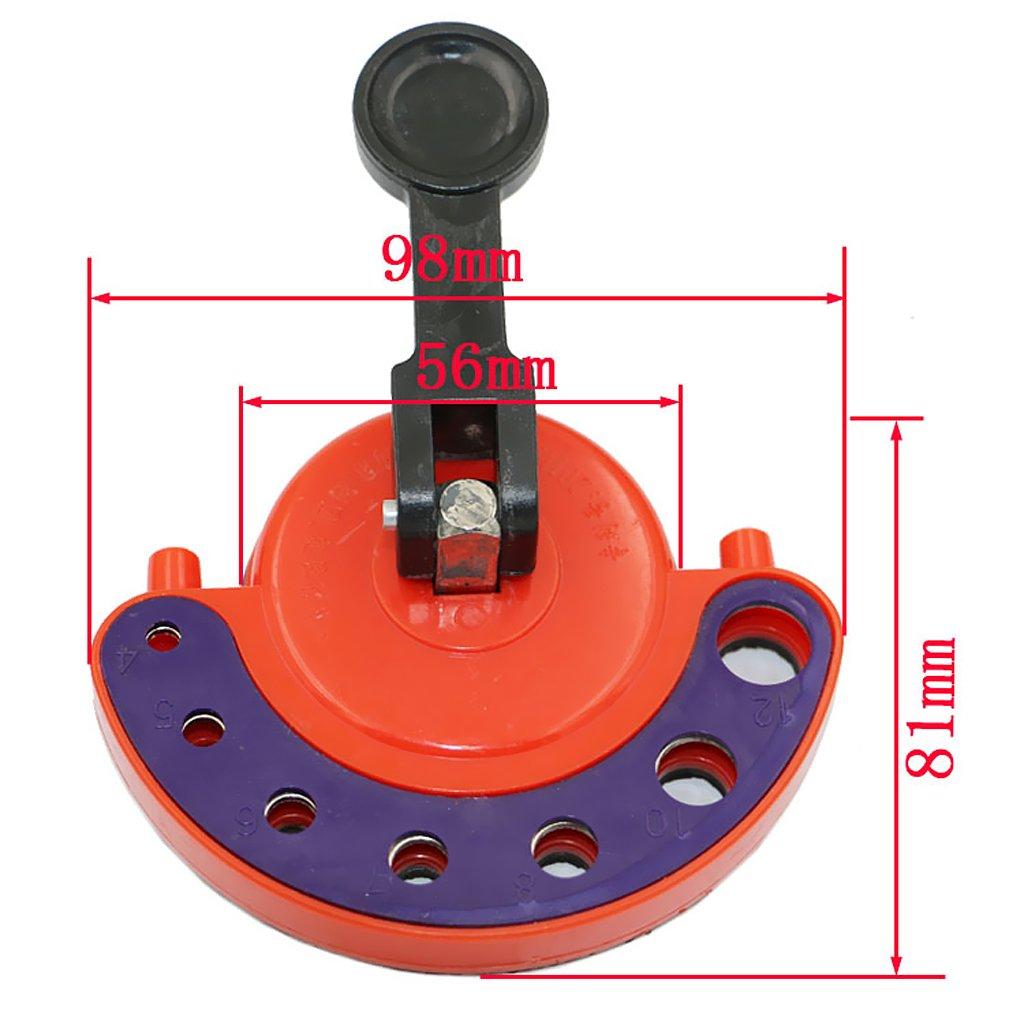 Homyl Trapano Vetro Tegola Buco Sega Guida Localizzatore Credulone Adattabile Base 4mm-12mm
