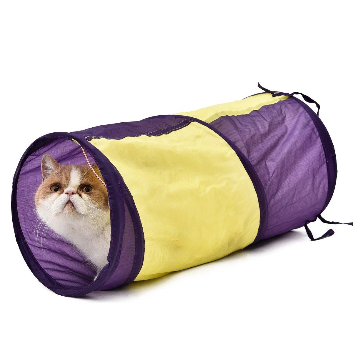 Amazon.com: SRY túnel para gato mascota juguete gato gatear ...