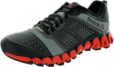 Reebok ZigWild Charge - Zapatillas de Running para Hombre, Multi (Black-Carbon-China Red), 41 EU: Amazon.es: Zapatos y complementos