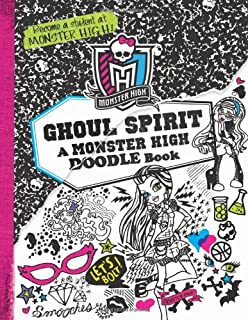 Monster High Ghoul Spirit A Doodle Book