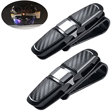 Pack de 2 portavasos para el visor solar del coche, Vehículo gafas ...