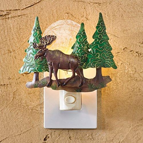 Park Designs Moose Scenic Night Light
