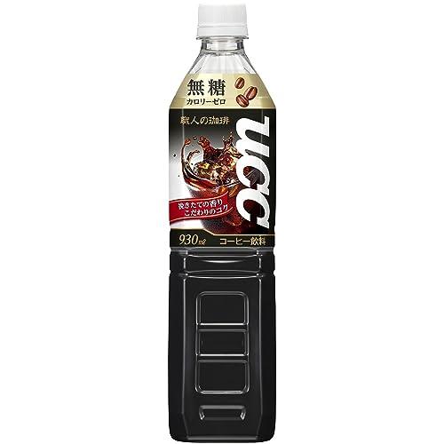 UCC 職人の珈琲 無糖 PET 930ml×12本
