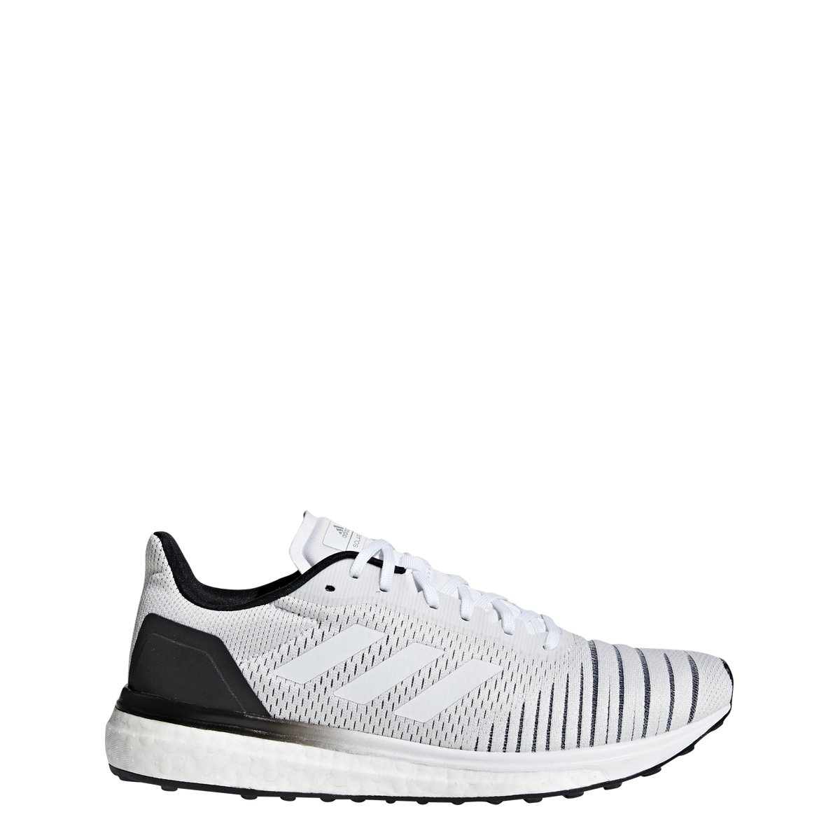 adidas Women's Solar Drive Running Shoe White/Black Size 6.5 M US